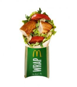 grilled chicken mc wrap